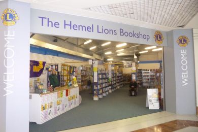 Lions Book Shop in the Marlowes Centre Hemel Hempstead